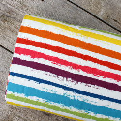 Jersey Painted Stripes Multi